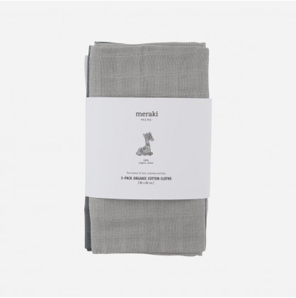 Meraki Mini Organic Cotton Cloths