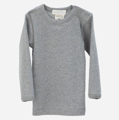 Serendipity T-shirt Med Lange Ærmer Grå