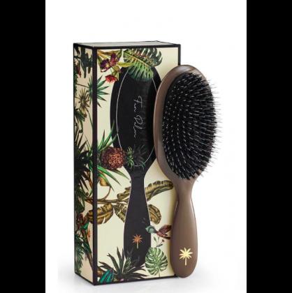 Fan Palm Hair Brush Mink