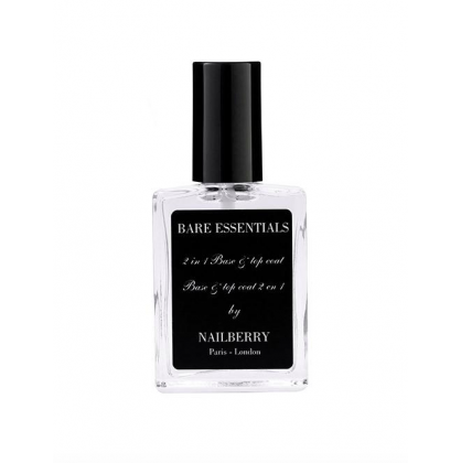Nailberry 2 In 1 Base & Topcoat
