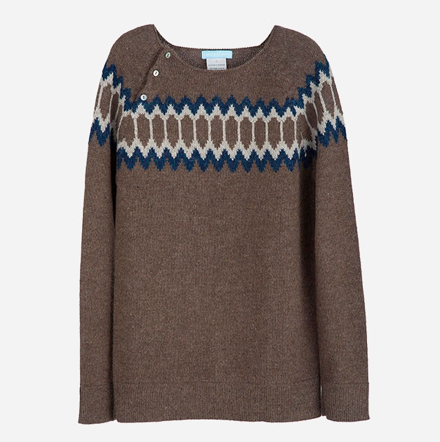 strik sweater dame opskrift