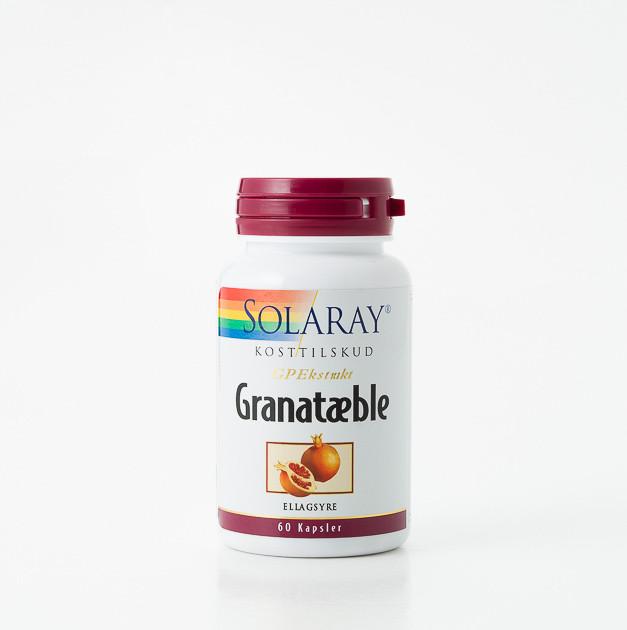 granatæble kosttilskud