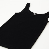 Ladies' Sleeveless Vest Sort