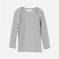 Serendipity T-shirt med lange ærmer Grå/Ecru