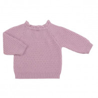 Selana Sweater Uld Rose Grise