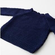 Selana Sweater Uld Marine
