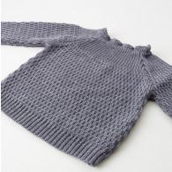 Selana Sweater Uld Grå