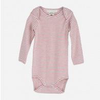 Serendipity Baby Body Stripe Woodrose/Off White