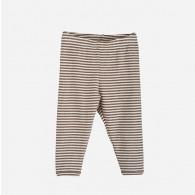Serendipity Baby Leggings Stripe Iron/Off White