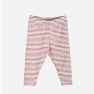 Serendipity Baby Leggings Stripe Woodrose/Off White