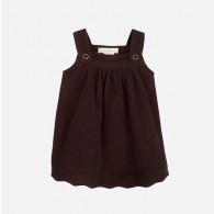 Serendipity Baby Spencer Dress Dark Brown