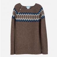 Serendipity Dame Strik Sweater Brun