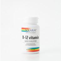 Solaray B12-vitamin med folsyre