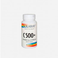 Solaray C500+ hyben og citron 100 tabletter
