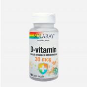 Solaray D-vitamin 30 mcg