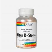Solaray Mega B-stress 120 stk